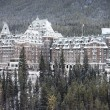 Stock Photo: Banff hotel