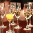 Champagne Flutes — Stock Photo #6396373
