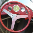 Stock Photo: Old fashioned steering wheel