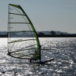 Windsurfer on Draycote Water - Stock fotografie
