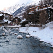 Zermatt river - Foto Stock