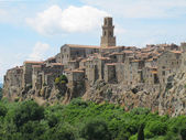 Pitigliano village, Tuscany — Photo