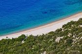 хорватский пляж — Стоковое фото