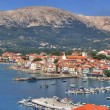 Mediterranean Town of Baska panorama — Stock Photo