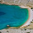 Vela Luka beautiful clean beach, Krk, Croatia — Stock Photo #6602356