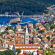 Panoramic view - Town of Mali Losinj — Stock Photo
