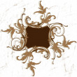 Baroque frame - Stock Vector