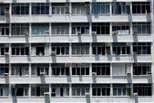Windows and air conditioners — Stock Photo