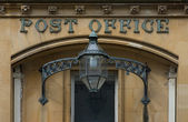 Victorian English Post Office — Stock Photo