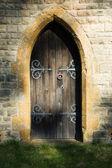Mysterious doorway — Stock Photo