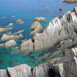 Stock Photo: Rocky Outcrops in Ocean