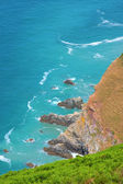 Blue Sea and Cliffs — Stock Photo