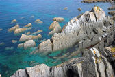 Rocky Outcrops in the Ocean — Stock Photo