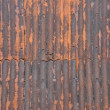 Rusty Metal Roof — Stock Photo #6602975
