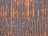 Rusty Metal Roof — Stock Photo