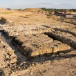 Footings on a housing development — Stock Photo