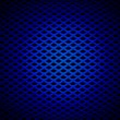 Blue Grille — Stock Photo