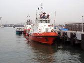 Vessel alongside — Stock Photo