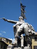 Monumento ai caduti a Mentana — Stock Photo