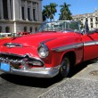 Red old cabrio car — Stock Photo #6704965