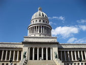 Front view of Capitolio — Stock Photo