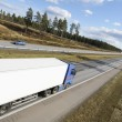 Trucking panoramic — Stock Photo