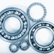 Bearings and pinion gears - 