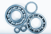 Bearings and pinion gears — Stock Photo