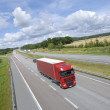 Truck transport on highway — Stock Photo #6448428