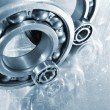 Gear wheels and bearings — Stock Photo
