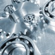 Stock Photo: Gear wheels and bearings