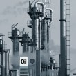Oil industry and fuel-sign - Foto Stock