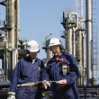 Oil industry and workers — Stock Photo #6656630