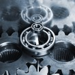 Hi-tech titanium gears — Stock Photo #6656641