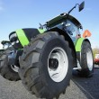 Giant farming tractor — Stock Photo