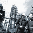 Oil industry and workers — Stock Photo #6656873