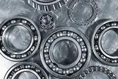 Gears and bearings — Stock Photo