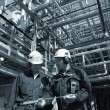 Engineers and oil industry — Stock Photo #6740013