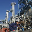 Oil and gas, refinery works — Stock Photo #6740521