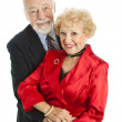 Royalty-Free Stock Photo: Beautiful Happy Senior Couple