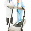 Exercising with Medical Supervision — Stock Photo