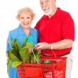 Senior Couple Shops Healthy — Stock Photo #6511277