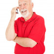 Senior Man - On Cellphone — Stock Photo #6511300
