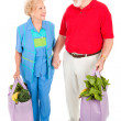 Senior Shoppers - Renewable Resources — Stock Photo #6511349