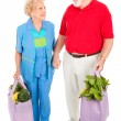 Stock Photo: Senior Shoppers - Renewable Resources