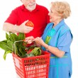Senior Shoppers - Tomato for Her — Stock Photo #6511351