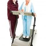Seniors Exercise Together — Stock Photo #6511392