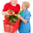 Seniors Shopping Together — Stock Photo #6511398