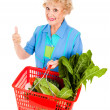 Thumbs Up For Nutrition — Stockfoto