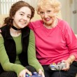 Royalty-Free Stock Photo: Bonding Over Video Games